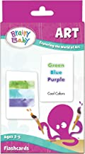 Brainy Baby Art Flash Cards Exploring the World of Art Flashcard Set Deluxe Edition
