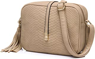7d13eaf3476b Realer Small Leather Purses Cross Body and Handbags with Shoulder Strap for  Women