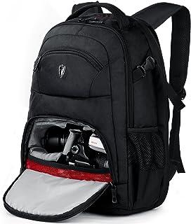 "Victoriatourist cámara DSLR Mochila con Bolsa de computadora portátil Impermeable para la Lluvia se Adapta a la mayoría de portátiles, 15.6"", Negro"