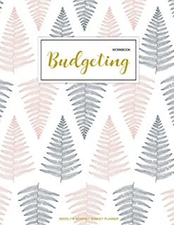 Budgeting Workbook: Finance Monthly & Weekly Budget Planner Expense Tracker Bill..
