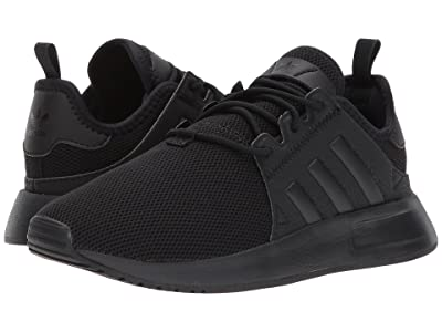 adidas Originals Kids X PLR (Little Kid) (Black) Kids Shoes