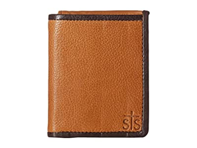 STS Ranchwear Frontier Hidden Cash Wallet (Tan Leather) Handbags