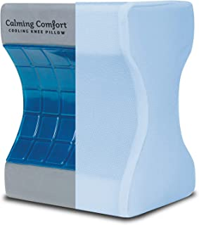 Sharper Image- Almohada de rodilla de enfriamiento con carb�