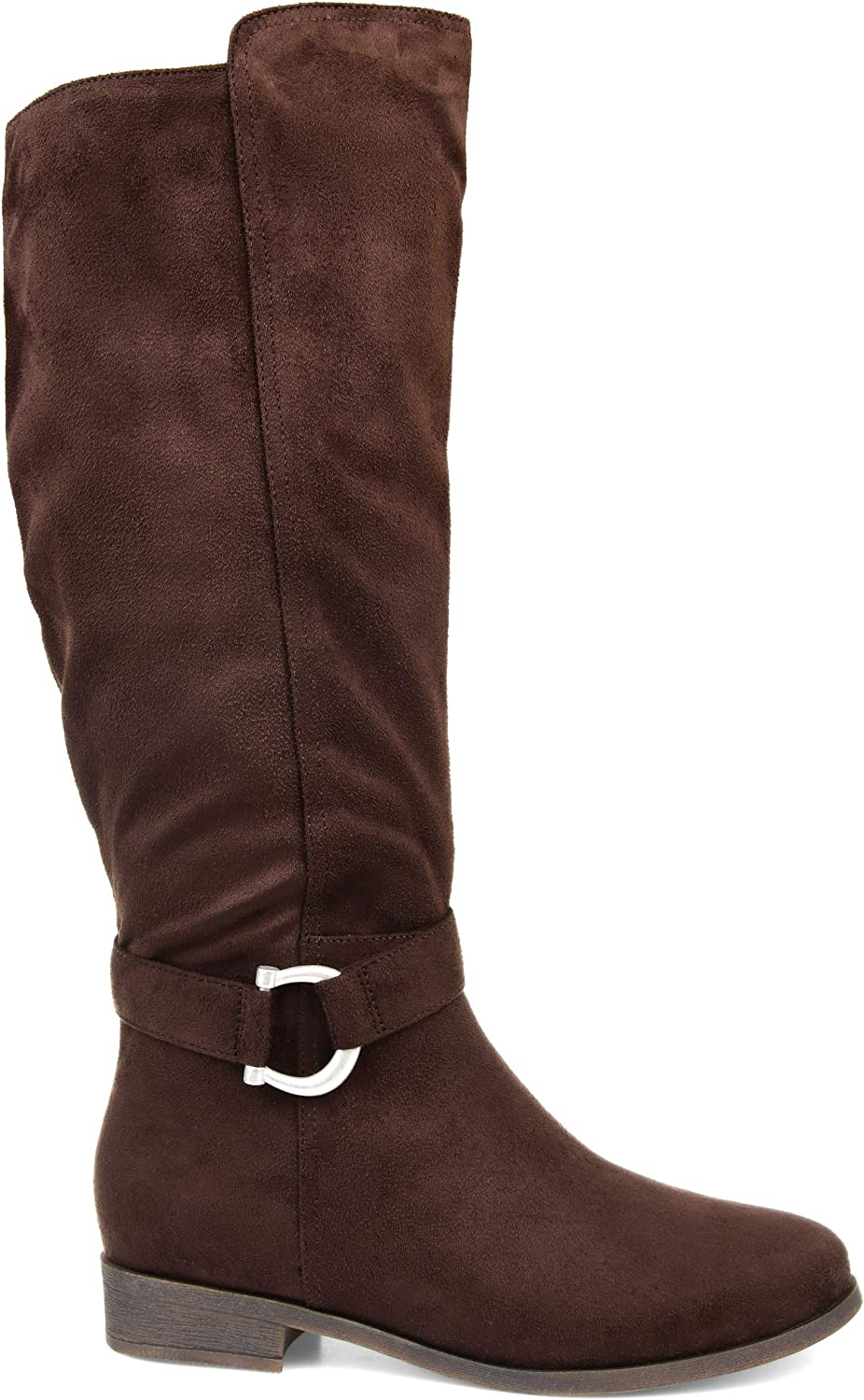 shopping safety Comfort by Brinley Co. Classic Riding Boot Womens
