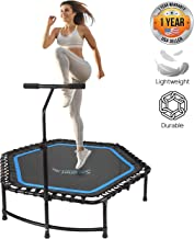 SereneLife Fitness Exercise Rebounder Mini Trampoline - 48