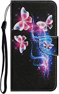 Miagon for Xiaomi Mi 10T Case,Colorful Pattern Folding Stand PU Leather Wallet Flip Cover with TPU Inner Bumper Card Slots...