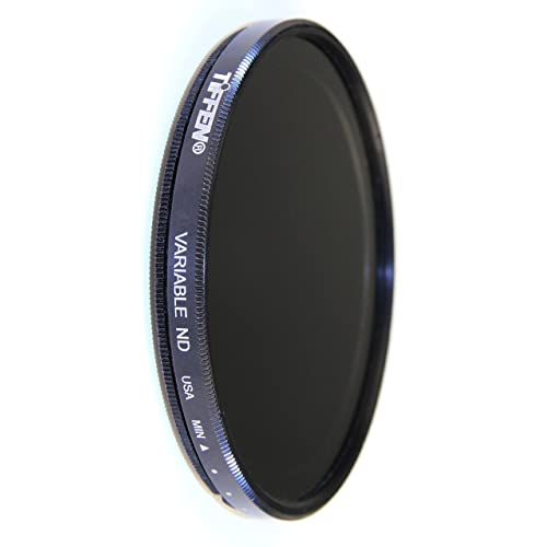 ZOMEI 77mm ND2-400 Dark Filter HD Adjustable Variable Neutral Density Fader Filter with SCHOTT Glass and Aluminum Frame
