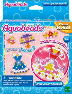 Aquabeads 31362 Dress Up Key Chain Set, Various
