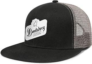 for Women Cap Blue Moon Beer Logo Mesh Vintage Fashion Truckers Hat