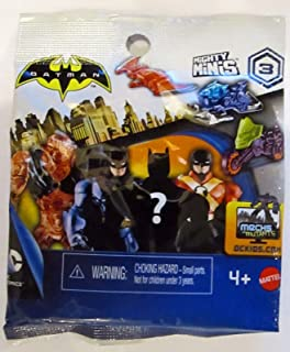 Batman Unlimited Mighty Mini's Blind Pack Figures Series 3