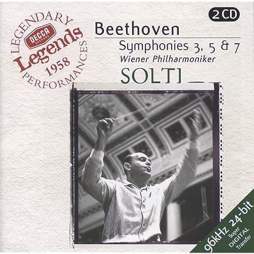 Beethoven: Symphonies Nos. 3,5 & 7