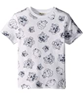 Kenzo Kids - All Over Printed Tiger Short Sleeve T-Shirt (Toddler/Little Kids)