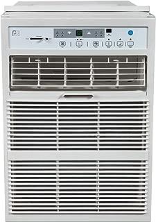 PerfectAire 10,000 BTU Slider Air Conditioner Window A/C - Casement, 10000, Gray