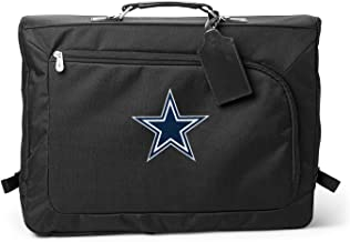 Denco NFL Dallas Cowboys Carry-On Garment Bag, 18-inches, Black, 18-inches