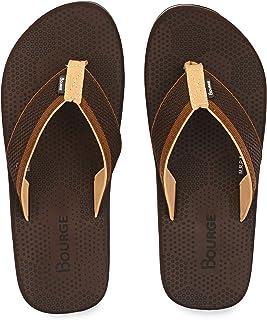 Bourge Men's Canton-Z6 Flip-Flops
