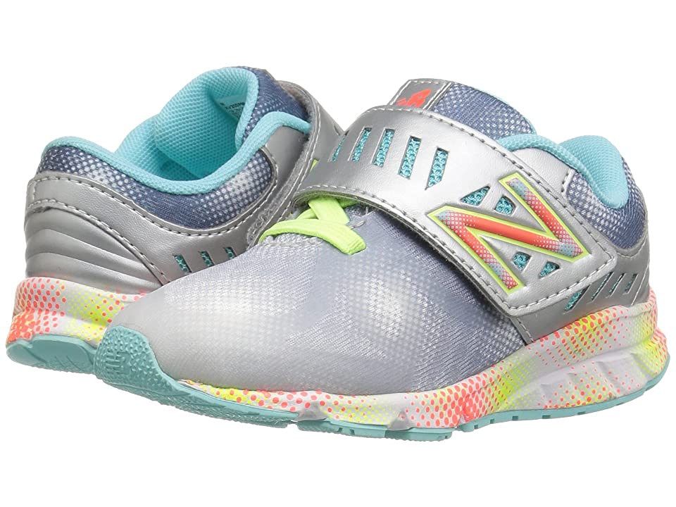 New Balance Kids Electric Rainbow 200 HL (Infant/Toddler) (Grey/Multi) Girls Shoes