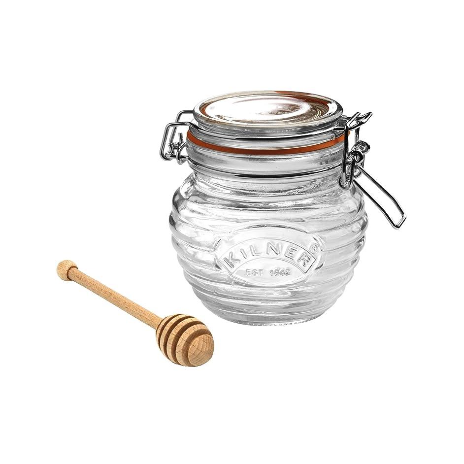 Kilner Honey Pot With Dipper, 13.5 Fluid Ounces