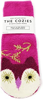 Bath & Body Works The Cozies Collection Owl-Berta The Owl Shea Infused Socks
