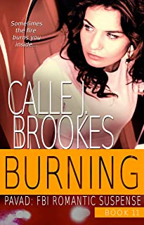 Burning (PAVAD: FBI Romantic Suspense Book 11)