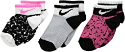 Nike Kids - 3-Pair Pack Tribal Low Socks (Toddler)