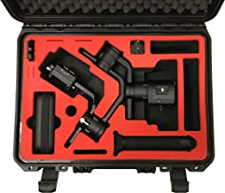 MC-CASES Professional Carrying Case fits for DJI Ronin S - The Ronin S Axes are pre-configurable - Made in Germany