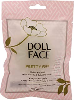 Doll Face Pretty Puff Konjac Sponge - Natural