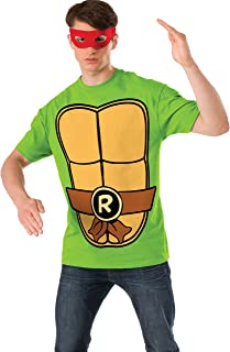 Nickelodeon Teenage Mutant Ninja Turtles Shirt With Mask and Raphael