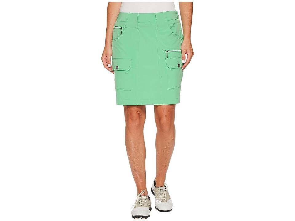 Jamie Sadock Airwear Light Weight 18 in. Skort (Emerald) Women