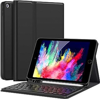 ipad 8世代キーボード ケースiPad 10.2 キーボード ケース 第7世代対応iPad7/iPad8 2019/2020モデル アイパッド 10.2 インチ Bluetooth ワイヤレス キーボードカバー スタンド機能付き 多角度調整...