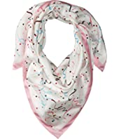 Kate Spade New York - Confetti Silk Square Scarf