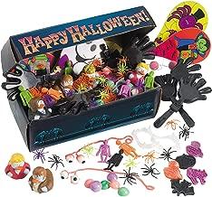 Fun Express Coffin Chest Toy Assortment (100 Pieces) Bulk Halloween Toys