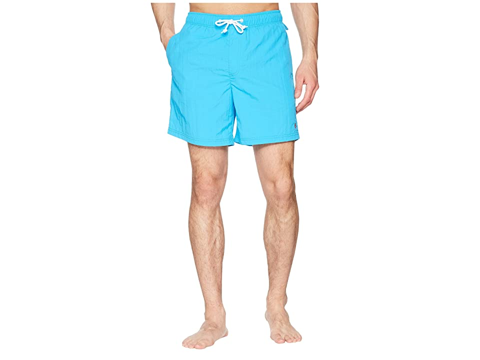 Original Penguin Daddy Swim Trunks (Dresden Blue) Men