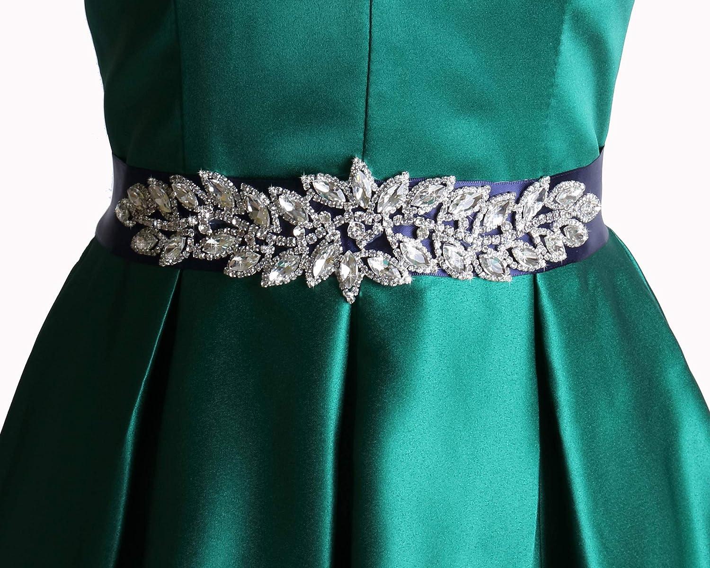 Wedding rhinestone sash bridal Virginia sale Beach Mall dress belt bridesmaid