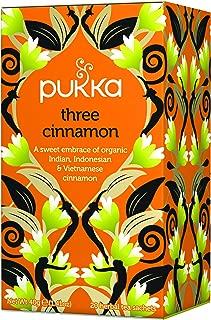 pukka (packer) Three cinnamon organic herbal tea 20TB