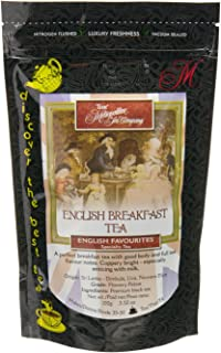 Metropolitan Tea Discovery Loose Tea Pack, English Breakfast English Favorite, 100gm