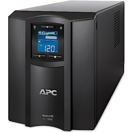 APC 1500VA Smart UPS with SmartConnect, SMC1500C Sinewave UPS Battery Backup, AVR, 120V, Line Interactive Uninterruptible Power Supply