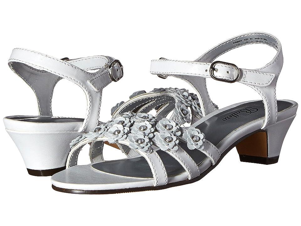 Jumping Jacks Kids Balleto Shimmer (Little Kid/Big Kid) (White) Girls Shoes