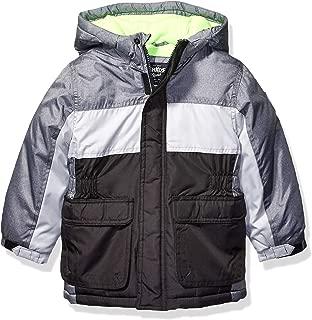 OshKosh B'Gosh Boys' Heavyweight Colorblock Puffer Coat