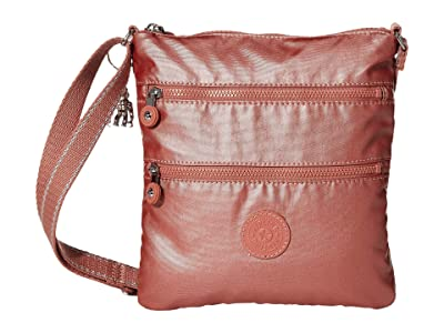 Kipling Keiko Crossbody (Metallic Rust) Cross Body Handbags