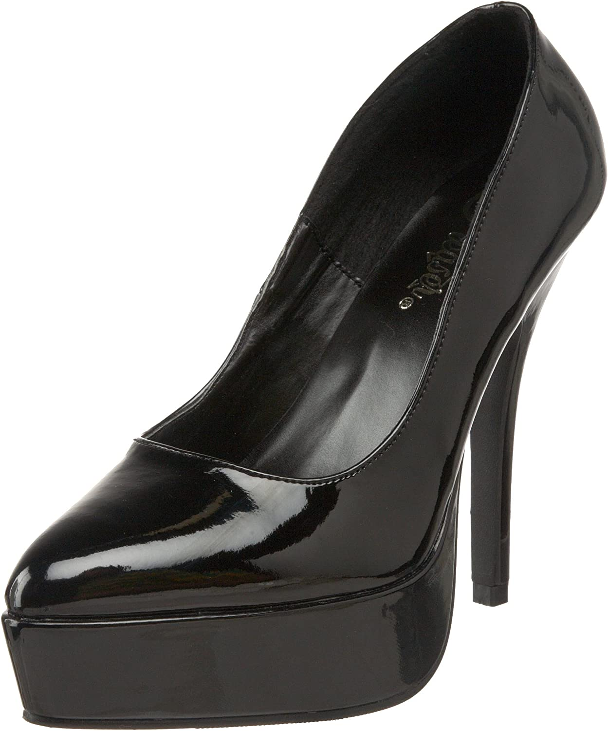 Devious Women's Indulge 520 Platform Pumps,Black,14 M