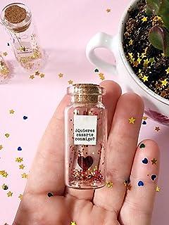 Will you Marry me. Quieres casarte conmigo.Mensaje en una botella. Miniaturas. Regalo personalizado. Divertida postal de a...