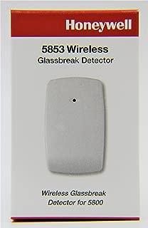 Honeywell 5853 Wireless Glassbreak Detector W/Mounting Tape