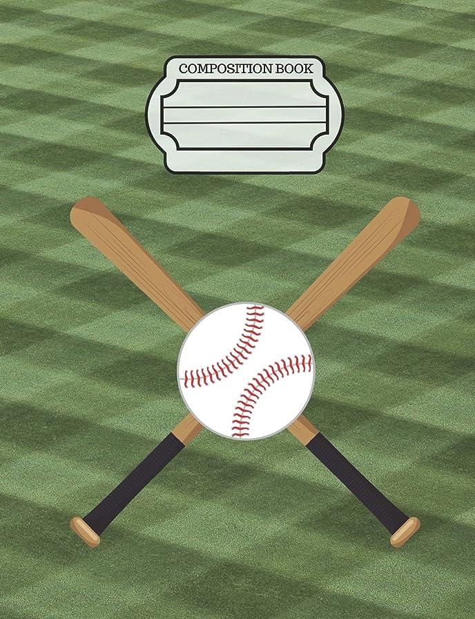 はずマスク征服するBaseball Player Bat Ball Composition Notebook: Dot Grid Journal, School Teachers, Students, 200 Dotted Pages (7.44