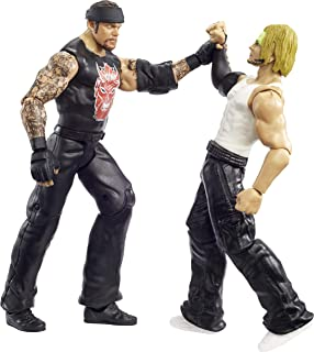 WWE Undertaker vs Jeff Hardy Championship Showdown 2 Pack 66 in Action Figures Monday Night RAW Battle Pack for Ages 6 Years Old and Up