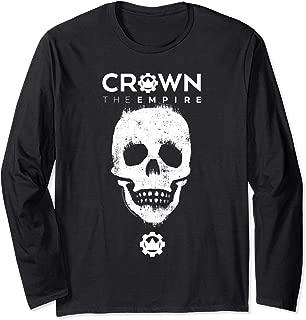 Crown the Empire Skull Long Sleeve T-Shirt