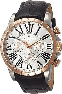 [サルバトーレマーラ]Salvatore Marra メンズ腕時計 サルバトーレマーラ マルチカレンダー SM15103-PGSV メンズ 【正規輸入品】