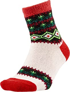 Field and Stream Womens Trees Cozy Cabin Crew Socks