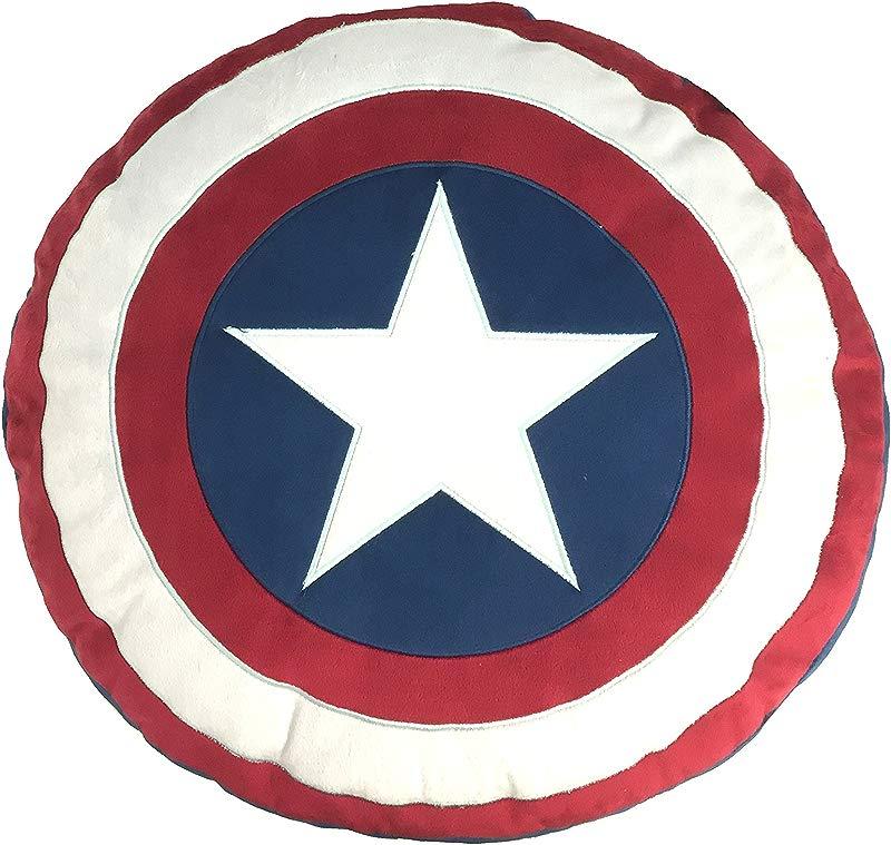 Marvel Captain America Civil War Shield Decorative Pillow