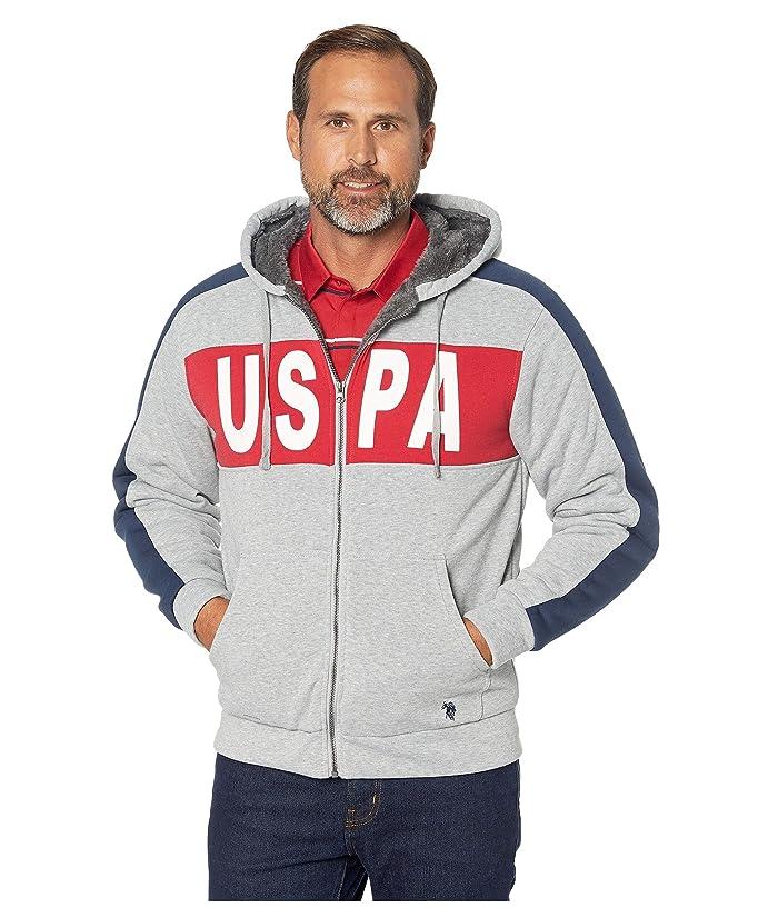 U.S. POLO ASSN. USPA Color Panel Hoodie