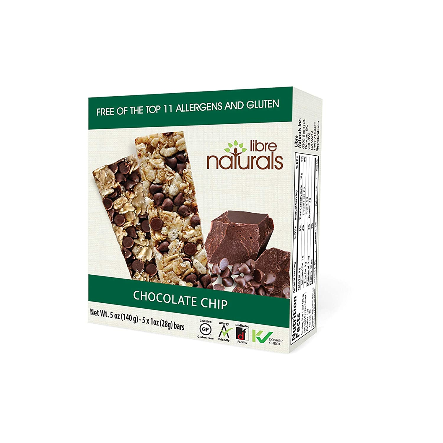 Max 47% OFF Libre Selling Naturals Chocolate Chip Chewy Bars Gluten - Vegan Granola